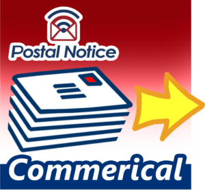 Postal Notice Commerical services